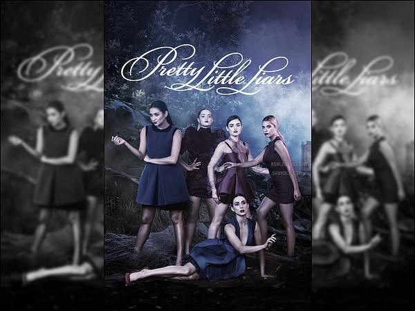Découvrez un nouveau poster promo pour la nouvelle saison de Pretty Little Liars.