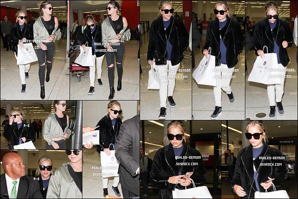 08/04/16 : Notre petite menteuse a été aperçue à l'aéroport LAX en compagnie de Caroline Beckman, à LA. La belle a fait un effort sur la tenue vestimentaire en portant un pantalon blanc. La tenue n'est néanmoins pas transcendante.[/font=Arial]