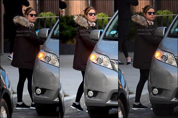 13/03/17 : Ashley a été aperçue dans les rues de New York City, après avoir été faire sa séance de sport. Encore une sortie sport de l'actrice. Ca commence vraiment à devenir une mauvaise habitude. On voudrait autre chose, Ashley...[/font=Arial]