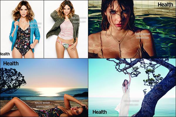 Découvrez les scans d'Ashley dans le magazine américain Health du mois de Mars.