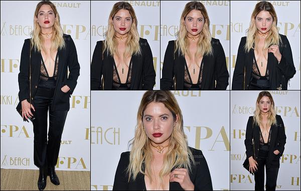 21/05/17 : Ash s'est rendue au Hollywood Foreign Press Association's qui s'est déroulé au festival de Cannes. C'est habillée de noir que nous retrouvons notre actrice. Malheureusement, peu de photos sont disponibles... Mais un top pour la tenue ![/font=Arial]