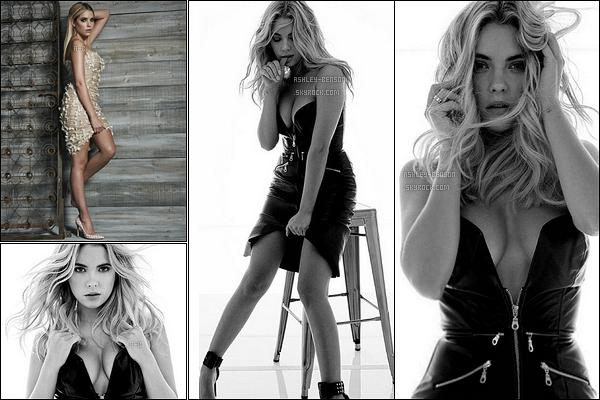 Voici les clichés promo d'Hanna Marin pour la saison 6B de-  Pretty Little Liars. Le photoshoot a été réalisé par le photographe Yu Tsai. Ashley est vraiment une beauté dessus ! Je rêve d'avoir son corps, pas vous ? Shoot au top !