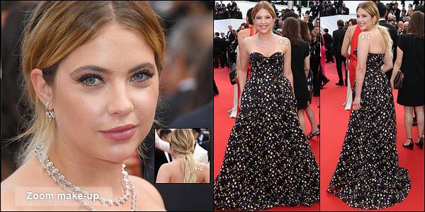 23/05/17 : C'est donc sans grande surprise, qu'Ashley montait les marches du fameux Festival de Cannes. Encore une fois, Ashley s'est surpassée pour cette soirée. On dirait vraiment une princesse dans cette longue robe. Un beau top ![/font=Arial]