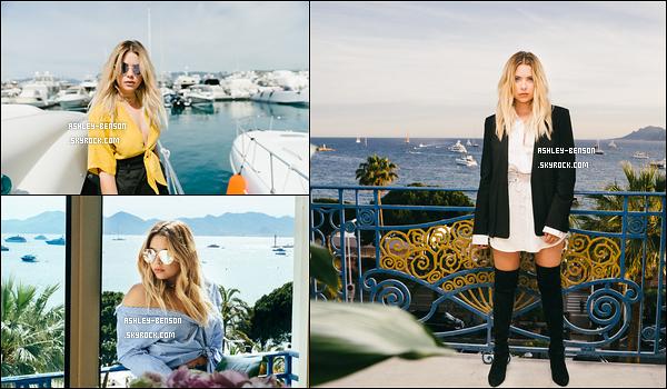 Découvrez un petit shoot qu'Izak Rappaport a réalisé cette année au moins de Mai. En effet, le photoshoot a été réalisé à Cannes lorsqu'Ashley s'y est rendue durant le festival. J'ai un coup de coeur pour la photo en bas à gauche. Toi?