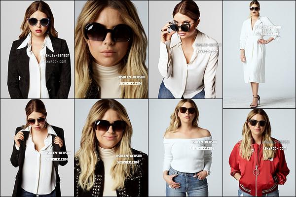 Voici de nouveaux clichés d'Ash pour la marque de lunettes de soleil, Prive Goods. J'aime énormément les clichés, surtout le troisième en haut. Ashley est magnifique et représente bien la marque. Et vous, qu'en pensez-vous ?