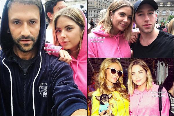Cette semaine, Ashley Benson s'est rendue à une fête organisée par Juicy Couture.