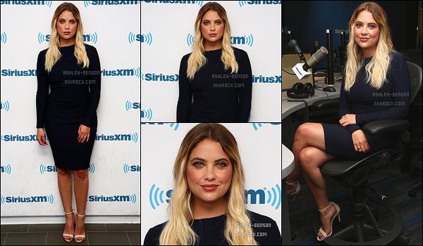 02/08/17 : Ash Benson s'est rendue dans les studios de la célèbre radio américaine SiriusXM, dans New York. Seulement quatres photos sont disponibles pour le moment. Je modifierai le montage si d'autres sortent. Sinon un top, j'adore sa robe.[/font=Arial]