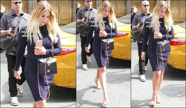 02/08/17 : Ash a été vue devant les studios de l'émission américaine New York Live, dans la ville de New York. La promo pour le film Chronically Metropolitain commence et c'est avec son co-star Shiloh Fernandez qu'elle s'y est rendue. Top ![/font=Arial]