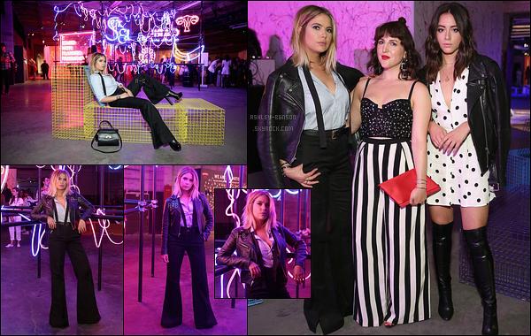 07/09/17 : Notre actrice s'est rendue au Refinery29 Third Annual 29Rooms: Turn It Into Art, dans Brooklyn. D'autres stars étaient présentes comme Bella Thorne ou Emma Roberts. Mes trois actrices préférées étaient au même endroit !![/font=Arial]
