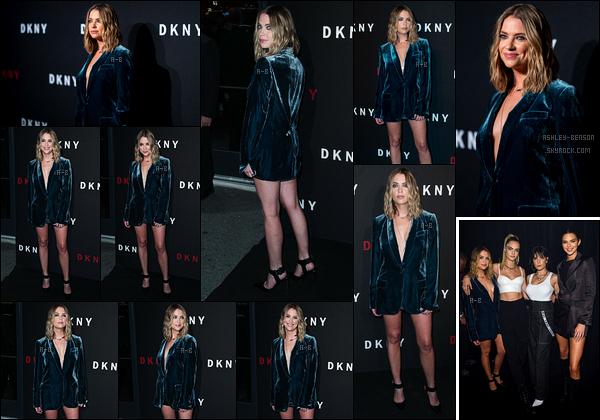09/09/19 : Ashley s'est rendue à une soirée organisée pour les 30 ans de la maison de mode DKNY à New York. Lors de la soirée, elle a retrouvé sa petite-amie ainsi que Kendall Jenner et la chanteuse Halsey. Notre Ashouille était vraiment sexy ![/font=Arial]