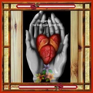 mon coeur dans vos main