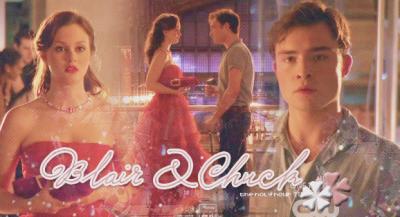 ■ Gossip Girl : Blair & Chuck. 4x02.