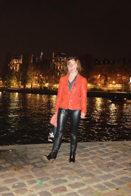 Sonia pantalon cuir paris