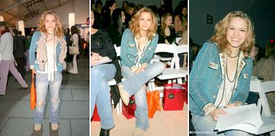 Olympus Fashion Week : 1er jour (4 Fevrier 2005)