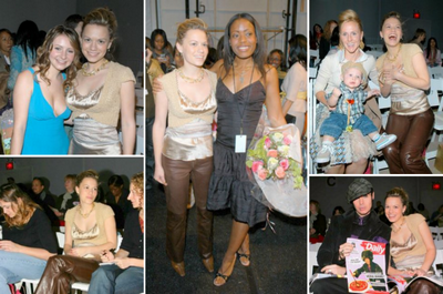 Olympus Fashion Week : 3éme jour (6 Fevrier 2005)