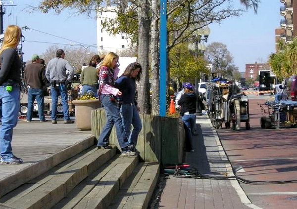 Tournage épisode 220 (22 Mars 2005)