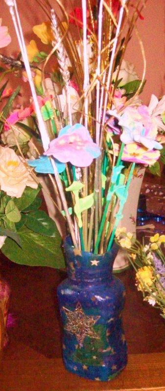 présentation de mes photophores et vases