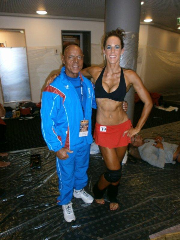 Avec Tony Lamouche, Quintuple Champion du Monde de Bodybuilding