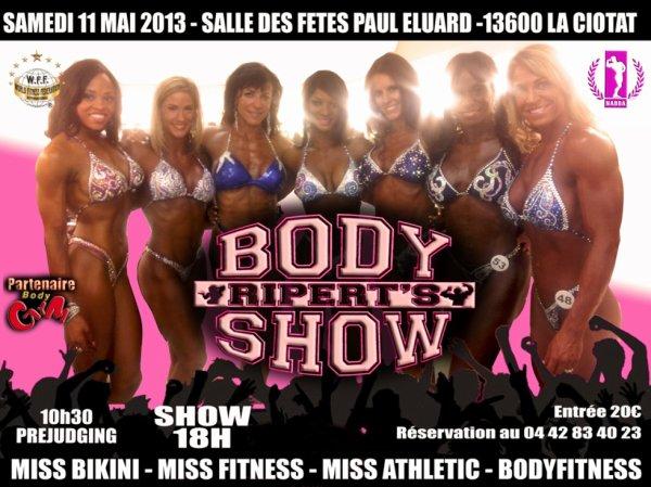 Girls Body's Ripert Show 2013