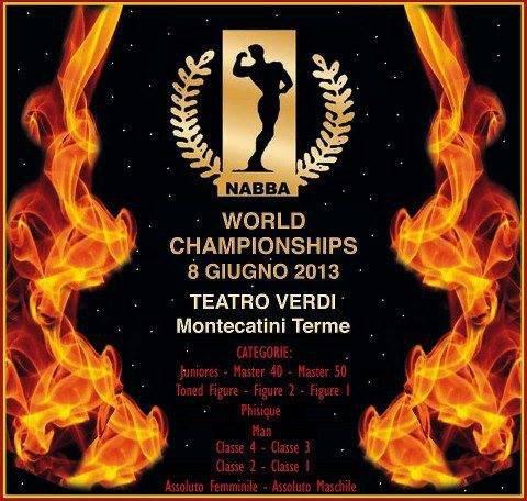 World Championships NABBA 2013