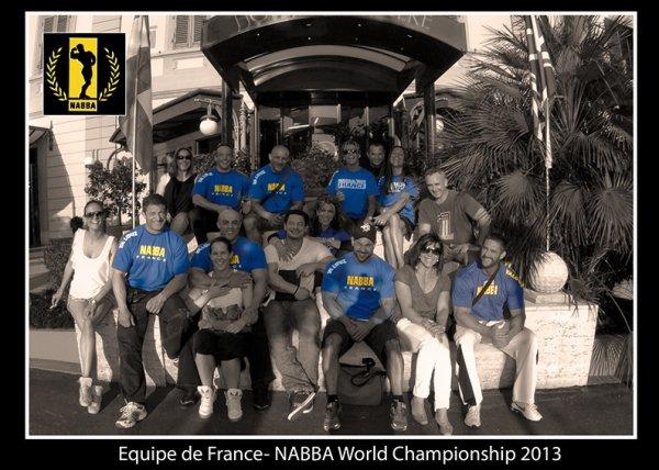 Equipe De France NABBA Championnat Du Monde 2013