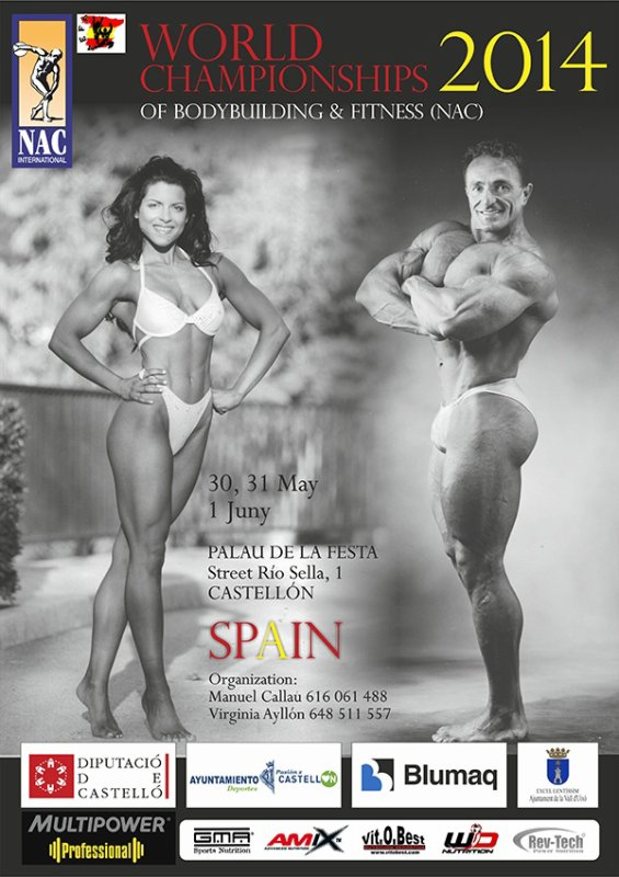 WORLD CHAMPIONSHIPS NAC 2014 SPAIN Cat. Ms SHAPE
