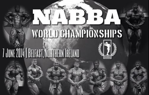 WORLD CHAMPIONSHIPS NABBA 2014, Belfast, North Ireland