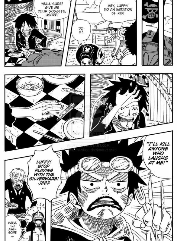 Un scan de fan délirant sur One Piece !