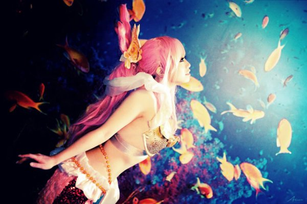 Cosplay One Piece Shirahoshi