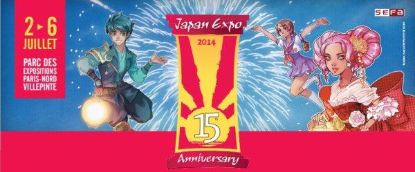Japan Expo Edition 2014 : Me revoilà !