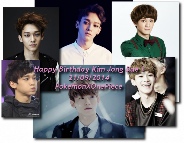 ~Happy Birthday Kim Jong Dae ~