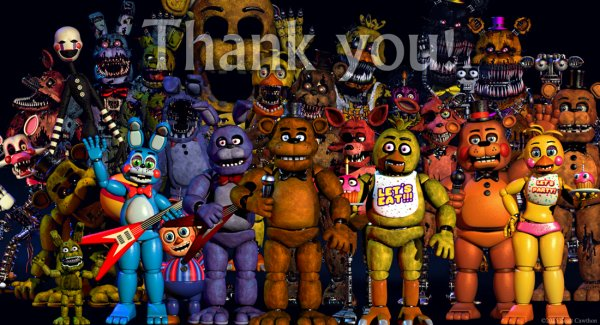 Happy Birthday FNaF !