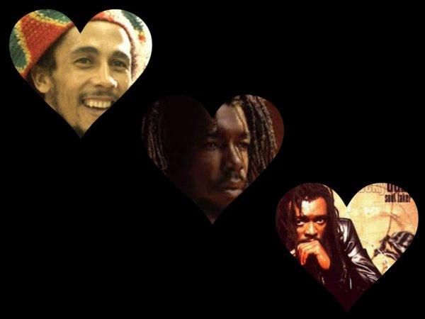 Les trois veterans decedes du Reggae Zik..