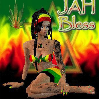 Love would never leave us alone.... as long as you have love you have Jah's Blessings.