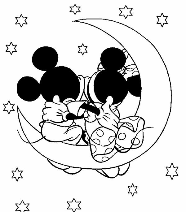 Coloriage Minnie Et Mickey Blog Que Pour Minnie