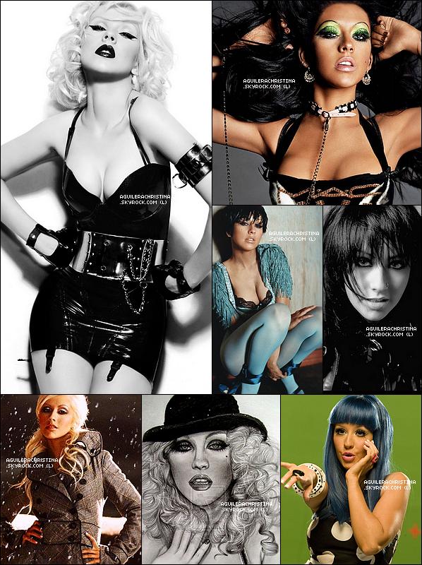 . Quelles est ton ou tes albums préférées ? Plus Découvrez le Photoshoot pour l'Album Decade of Hits (2008) !Mes Photo coup de coeur  je les adore plus mon album préférée c'est BackToBasics & Stripped . J'adore ce Photoshoot !   .