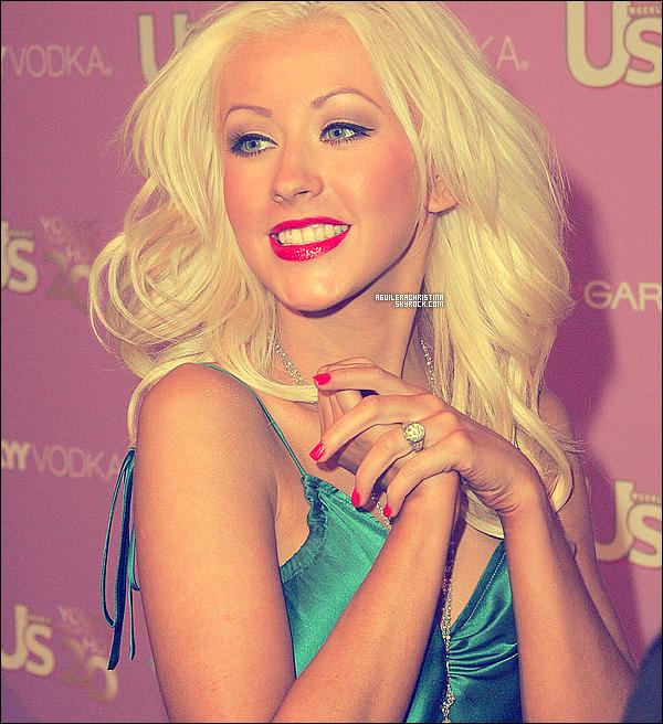 """.  16 Septembre 2005. _ Christina   était présente à la cérémonie """" US weekly Young Hollywood Hot 20 party """"  Elle avait été élu parmis les 20 jeunes star d'hollywood les plus hot de la planète ! au coté de Eva. Magnifique ! Vos Avis ?    ."""