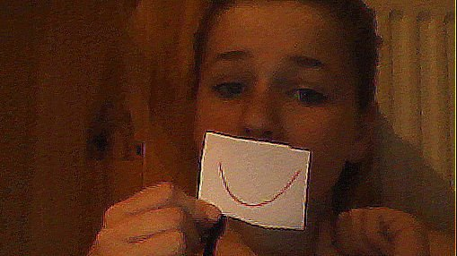 On ne sais Jamais Se Qui Ya Derriere un sourir