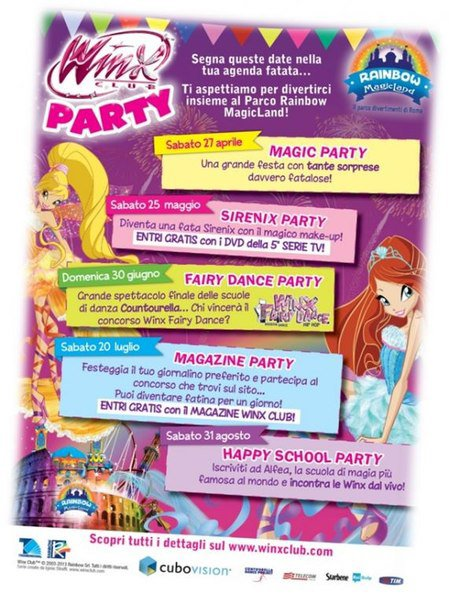 winx Sirenix Party