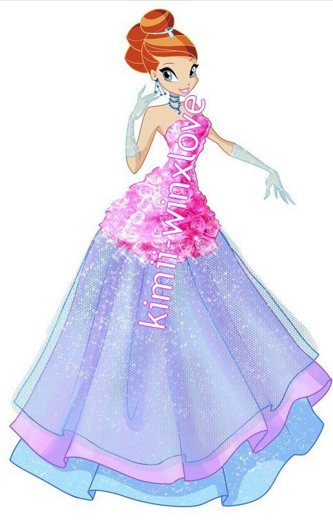 winx saison 5 collections Flower princesse !