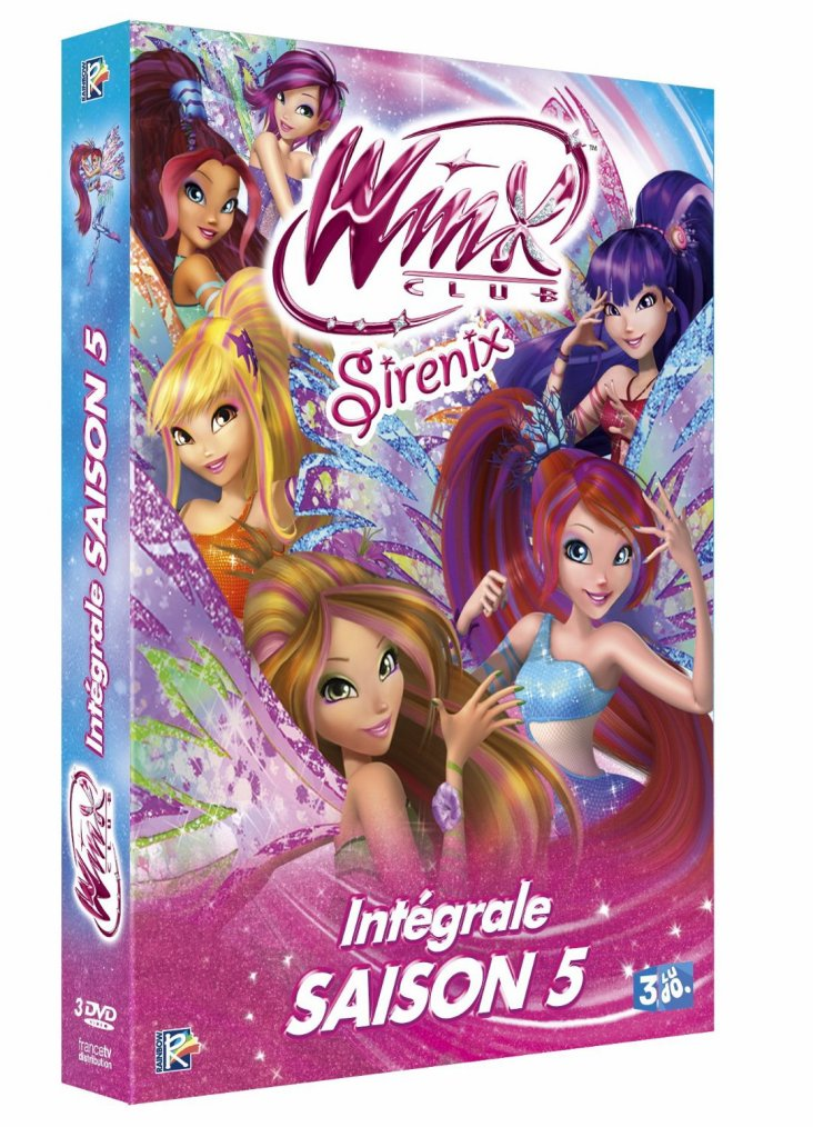 20/10/13 :Winx DVD de l'intégrale de la saison 5