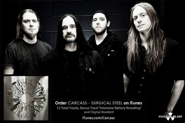 Carcass:Surgical Steel