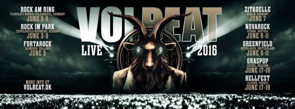 VOLBEAT:Seal The Deal & Let's Boogie-nouvel album (3/6/16)