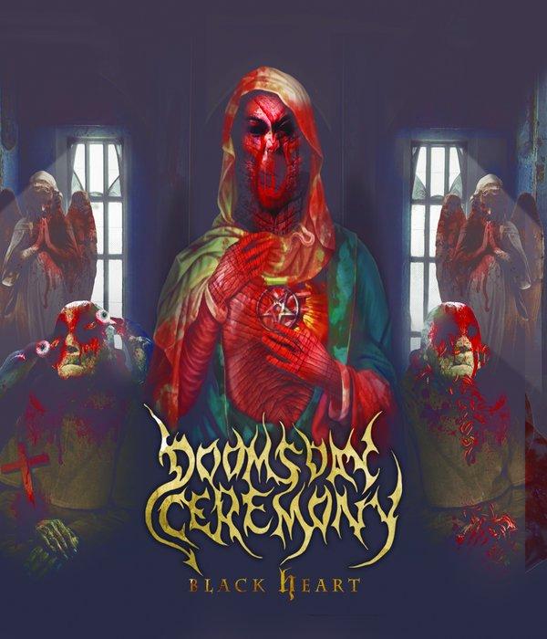 DOOMSDAY CEREMONY :Black Heart -nouvel album (22/4/16)en écoute intégrale