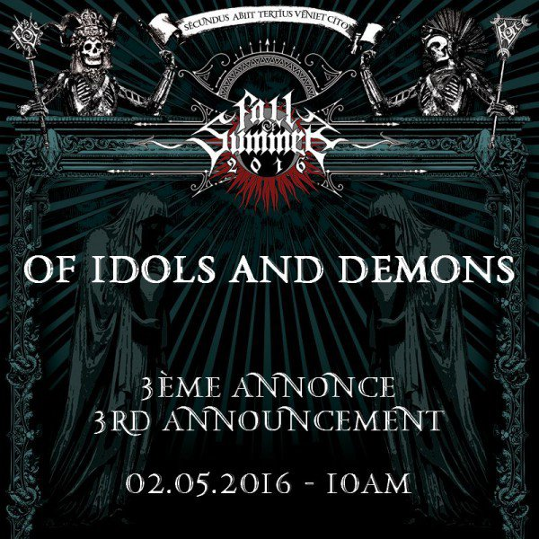 FALL OF SUMMER festival Of Idols and Demons