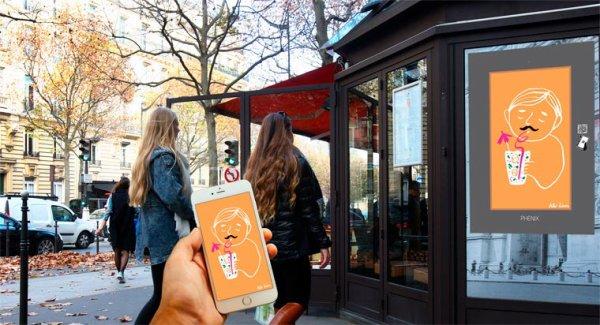 Des gifs animés débarquent  dans les rues de Paris !