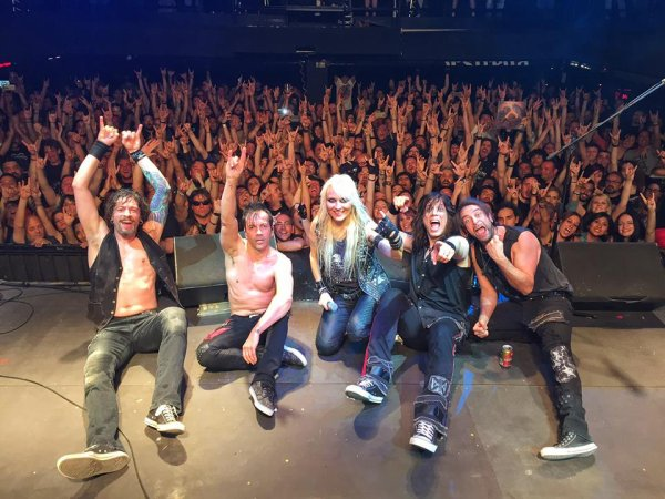 DORO:Strong And Proud-30 Years Of Rock And Metal-(24/6/16)