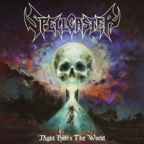 SPELLCASTER :Night Hides The World-nouvel album (8/7/16)