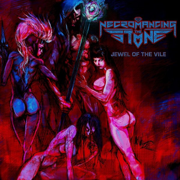 NECROMANCING THE STONE: Jewel Of The Vile-nouvel album (5/8/16)