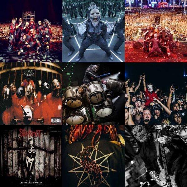 SLIPKNOT :concert -MidFlorida Credit Union Amphitheatre à Tampa, en Floride-videos